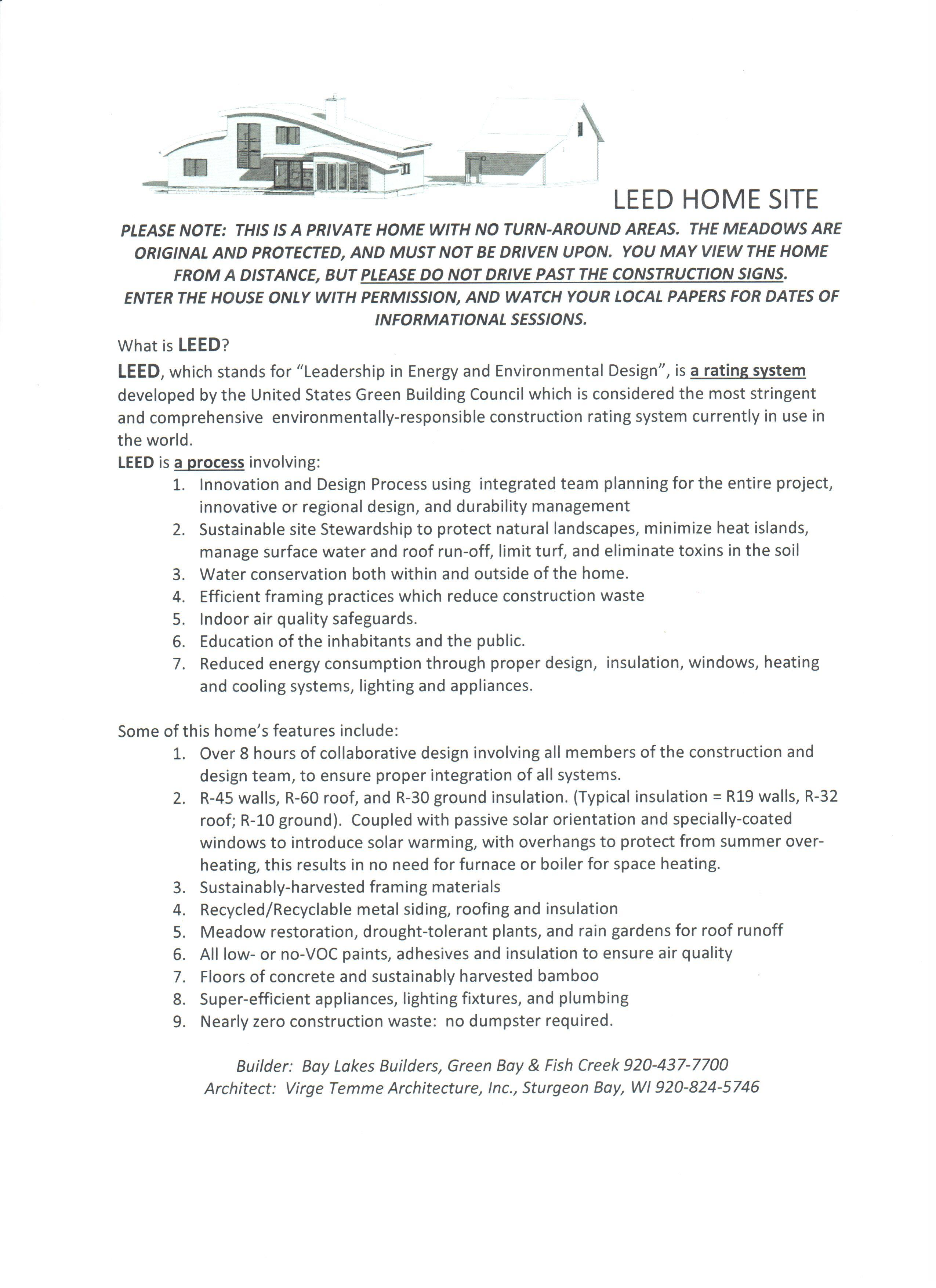 Ithaca a leed for homes timeline virge temme architecture this timeline will serve as an on going educational opportunity to it readers of the leed for home process and how this home satisfied the requirements xflitez Images